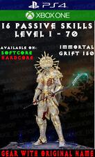 Diablo 3 - PS4 - Xbox One - Fully Modded PRIMAL Set - Inarius - Necromancer - V2