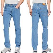 Lee Men's Brooklyn Stone Wash Denim Big & Tall Size Straight Stretch Jeans