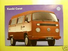 VW Bus T2C Transporter Typ 2 VW do Brasil Prospekt Flyer 1997
