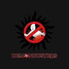 Supernatural - demonbusters T-Shirt!!!!
