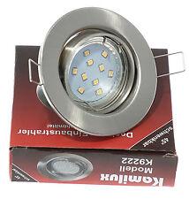 230 Volt soffitto incasso anello LIA acciaio inox spazzolato 10er GU10 SMD LED