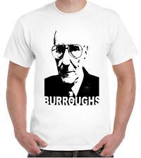 William S. Burroughs T-shirt Beat Naked Lunch romancier Kerouac culte écrivain