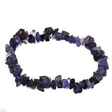 Lovely Bracelet With 35.50ctw Genuine Iolites Adjustable