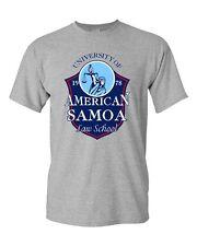 University of American Samoa Law School TV Funny Parody DT Adult T-Shirt Tee