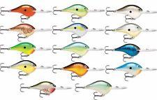 Rapala Dt20 Series 2 3/4 inch Metal Deep Diving Crankbait Dt Bass Fishing Lure