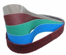 Klingspor / 3M Schleifbänder für Bosch GRB 14 CE Professional Rohrbandschleifer