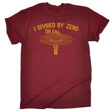 Yo dividido por la ciencia física Geek Nerd Gracioso cero T-Shirt cumpleaños para él ella