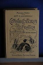 1918 - MANUALE HOEPLI - CONIGLICOLTURA PRATICA