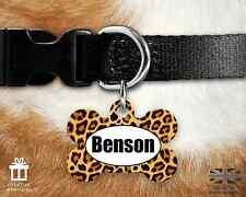 Custom PERSONALIZZATA per Cane Tag ID Nome PER COLLARE Pet Tags-INCISI-Animale