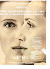 PUBLICITE ADVERTISING  1996   VICHY  creme cosmétiques ADAPTIVE