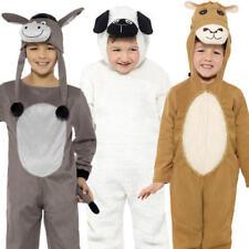 Deluxe Nativity Animals Kids Fancy Dress Christmas Xmas Girls Boys Costumes New