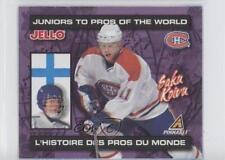1997-98 Pinnacle Kraft Jell-o Juniors to the Pros #SAKO Saku Koivu Hockey Card
