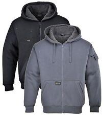 Portwest KS32 black or grey Pewter jacket/hoodie warm workwear size S-3XL