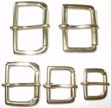Hebilla rodillo de latón sólido 2 - 1 3/4 - 1 1/2 -1 1/4 - 1 - 3/4 Pulgadas - 50 Mm - 20 mm