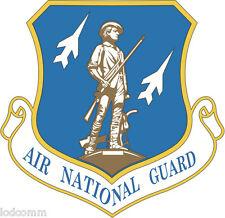 Air National Guard  (2 Decals!) Vinyl Stickers Window Decals