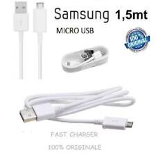 Cavo MICRO USB ORIGINALE FAST per Galaxy S3 S6 S7 MINI GRAND ACE S6 EDGE S7 EDGE