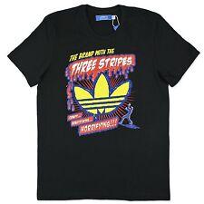 ADIDAS ORIGINALS GRAPHIC B Movie T-Shirt Retro Vintage Men's Leisure 105