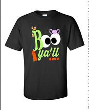Boo Ya'll New Funny Halloween T-Shirt Design