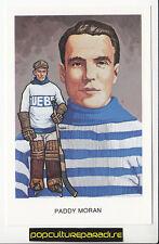 PADDY MORAN Quebec NHL Hockey HALL OF FAME POSTCARD
