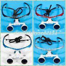 4 color Pick! Dental 3.5x420mm Loupes Magnifier Occhiali chirurgici Binoculari