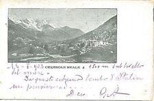 CARTOLINA d'Epoca - TORINO :  Ceresole Reale 1902