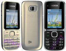 Original Unlocked RM-722 Nokia C2-01 3G 850/1900 Hebrew Keyboard Mobile Phone