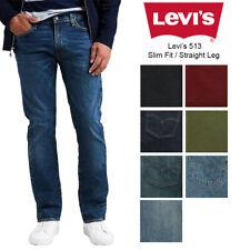Levis Men's 513 Slim Fit Straight Jeans