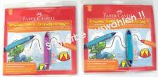 Faber-Castell Drehbleistift-Set Schreiblernstift Schwung-Zirkus 1,4mm pink/blau