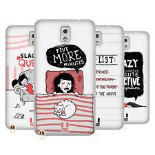 HEAD CASE DESIGNS LAZY DOODLES SOFT GEL CASE FOR SAMSUNG PHONES 2