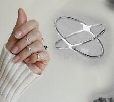 Toe rings Sterling Silver Band rings Silver Midi Rings Street style