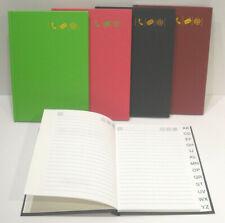 Brunnen Adressbuch Telefonbuch 106453195 10x17cm blau grün rot PP Ringbuch NEU
