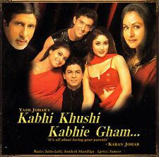 Kabhi Khushi Kabhie Gham-2001-India Orig Soundtrack- CD