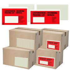 Lieferscheintaschen DIN LANG | DIN C6 Begleitpapiertaschen Dokumententaschen
