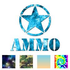 Army Star Ammo - Vinyl Decal Sticker - Multiple Patterns & Sizes - ebn67