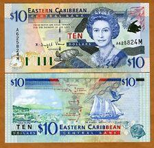 Eastern East Caribbean $10 (2000) Montserrat P-38m UNC