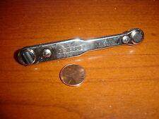 General Tool 807 Ratchet Offset Screwdriver 2 regular  Blades new military grade