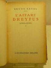 REVEL : L'AFFARE DREYFUS (1894 1906) - 1936 MONDADORI