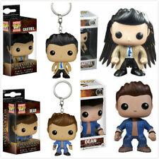 TV Show Supernatural POP Toy Castiel / Dean / Sam Winchester PVC Figure/Keychain