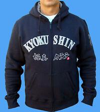 KYOKUSHIN KARATE KAPUZEN JACKE,KYOKUSHINKAI ZIPPED HOODY, OYAMA,JAPAN