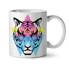 Tiger Ornament NEW White Tea Coffee Mug 11 oz   Wellcoda