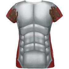 Halloween Roman Gladiator Costume All Over Womens T Shirt