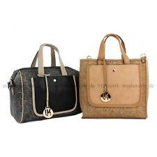 Damentasche Handtasche Tasche Tragetasche Shopper Stoff & Kunstleder TOP4
