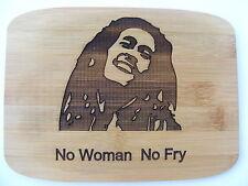 Bob Marley Bamboo Tagliere Formaggio Board FUMANDO ERBA regalo idea regalo Jacko UK