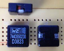 2.3uH 7.5A 3.7mΩ FERRITE SCHERMATO Induttore ± 20% WURTH 1350 SMD Multi Qtà