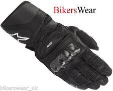 Alpinestars SP-1 Black Leather Racing & Sport Motorcycle Gloves