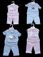 Grazioso Nuovo BEBE BONITO 3 PC Baby Ragazzi Ragazze Pantaloni Top Tuta Outfit NB 0/3 3/6 usi