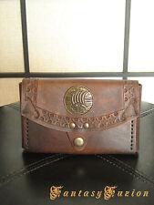 Medieval Renaissance Viking Drakkar Leather IPhone 6 Belt Pouch Case Wallet