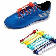 Elastische Schnürsenkel Schuhbänder Schnellverschluss Sneaker Sport Laufschuhe