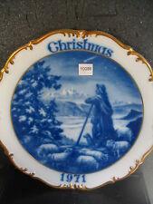 1971 Dresden Germany CHRISTMAS ANNUAL Shepherd Lambs Plate