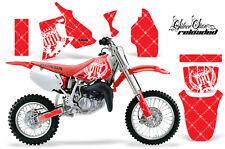 Honda CR80 CR 80 Graphics Kit Dirt Bike Wrap MX Stickers Decals 1996-2002 SSR WR